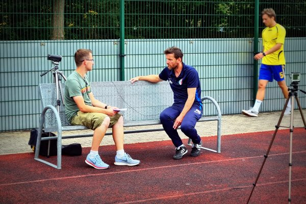 Interview mit Cheftrainer Martino Gatti bei SpreekickTV mit