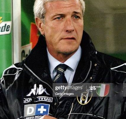 25 Oct 1998: Marcello Lippi the coach of Juventus watches the action during the Italian Serie A match against Inter Milan at the Delle Alpi Stadium in Torino, Italy. Juventus won the game 1-0.  Mandatory Credit: Allsport UK /Allsport